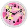 "Часы круглые из пластика ""Fluttershy Color Line"" - magic, fim, fluttershy, cutiemark, friendship"