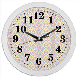 "Часы круглые из пластика ""ngjjvbn480"" - арт, узор, абстракция, фигуры, текстура"