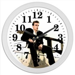 """Часы круглые из пластика """"James Dean Джеймс Дин"""" - стиль, ретро, джеймс дин, james dean, rebel"""