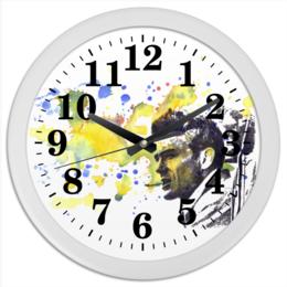 """Часы круглые из пластика """"James Dean Джеймс Дин"""" - ретро, джеймс дин, james dean, rebel, бунтарь"""