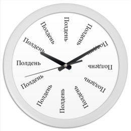 """Часы круглые из пластика """"Часы Маккри"""" - полдень, overwatch, mccree, маккри, highnoon"""