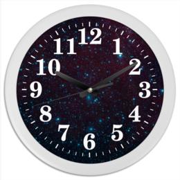"""Часы круглые из пластика """"Космос в тебе!"""" - вселенная, космос, наука, the spaceway, space"""