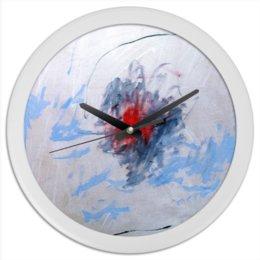 """Часы круглые из пластика """"искушение"""" - картина, абстракция, яркие цвета, яркие краски"""
