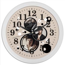 "Часы круглые из пластика ""Ли Мин Хо"" - знаменитости, актёры, южная корея, ли мин хо, корейские парни"