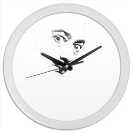 "Часы круглые из пластика ""Dali clock"" - сальвадор дали, дали, dali"