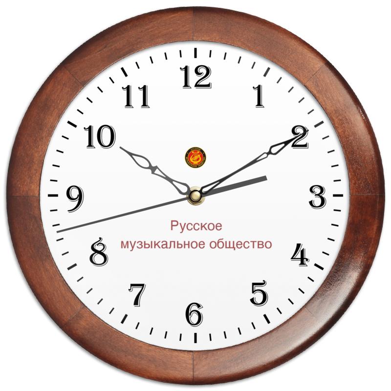 Printio Часы настенные в коричной оболочке цена