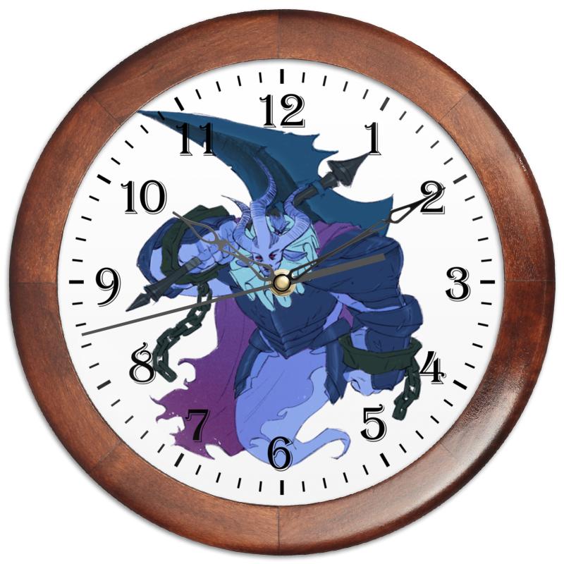 Часы круглые из дерева Printio Знак зодиака телец