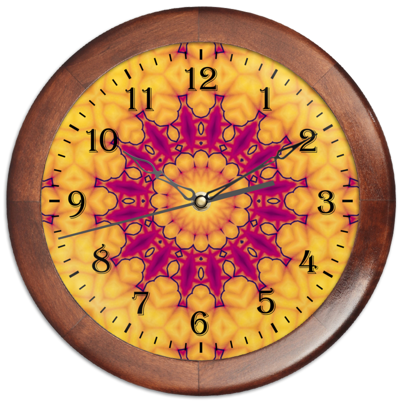 Часы круглые из дерева Printio Helicologie часы круглые из дерева printio боярышник и осень