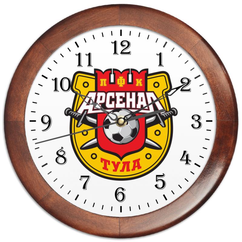 Часы круглые из дерева Printio Футбольный клуб,тульский арсенал. пряник тульский с фруктовой начинкой абрикос 130г старая тула