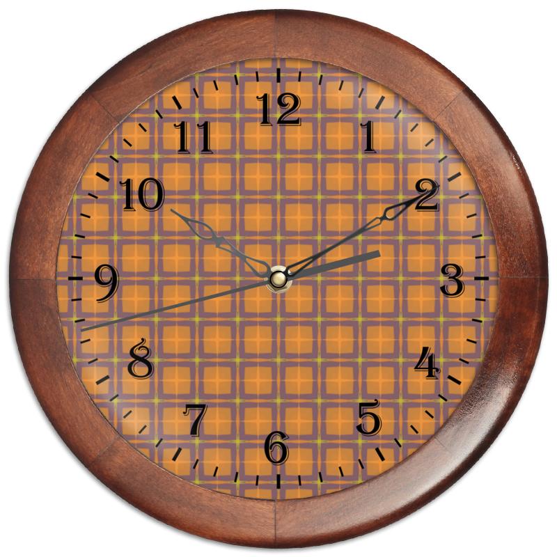 Часы круглые из дерева Printio Detroit часы круглые из дерева printio часы рфс