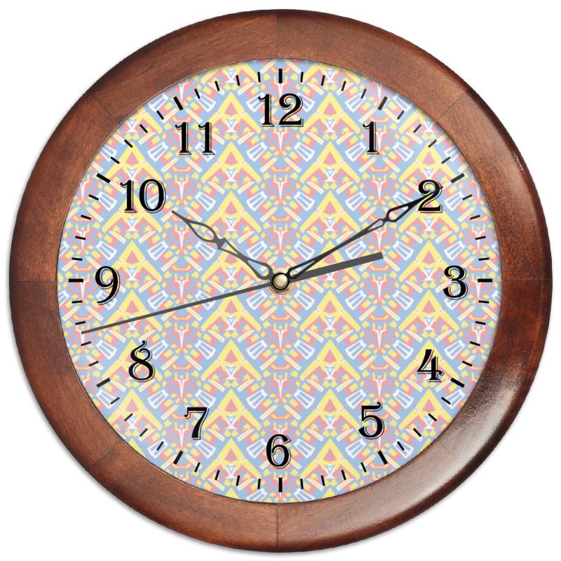 Часы круглые из дерева Printio Ngjjvbn480 цена