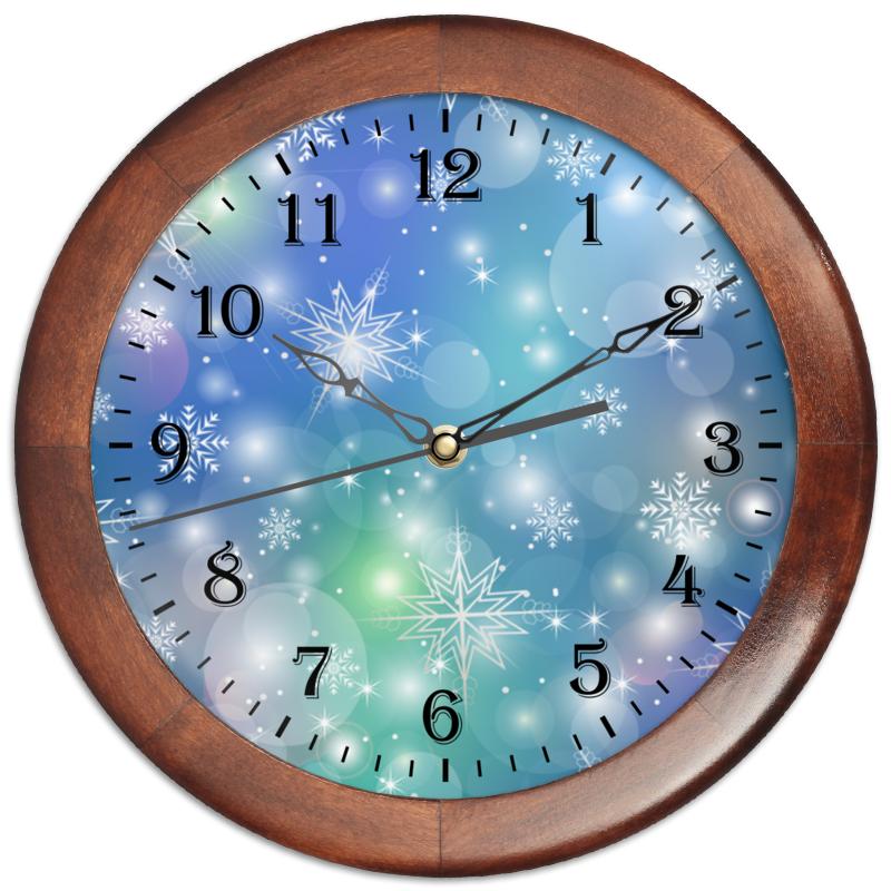 Часы круглые из дерева Printio Снежинка chokocat с днем рождения темный шоколад 85 г