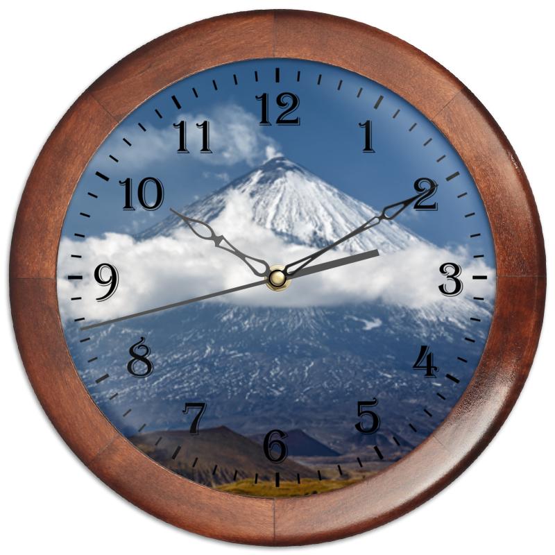 Часы круглые из дерева Printio Камчатка, осенний пейзаж, извержение вулкана аккумулятор hammer premium akh1215 12 0в 1 5ач для hitachi