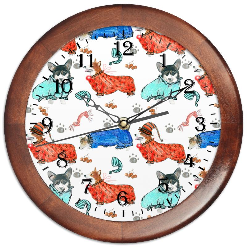Часы круглые из дерева Printio Час сна