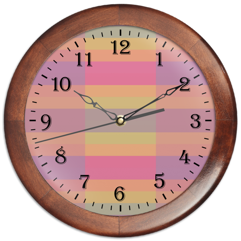 Часы круглые из дерева Printio Tf3olo