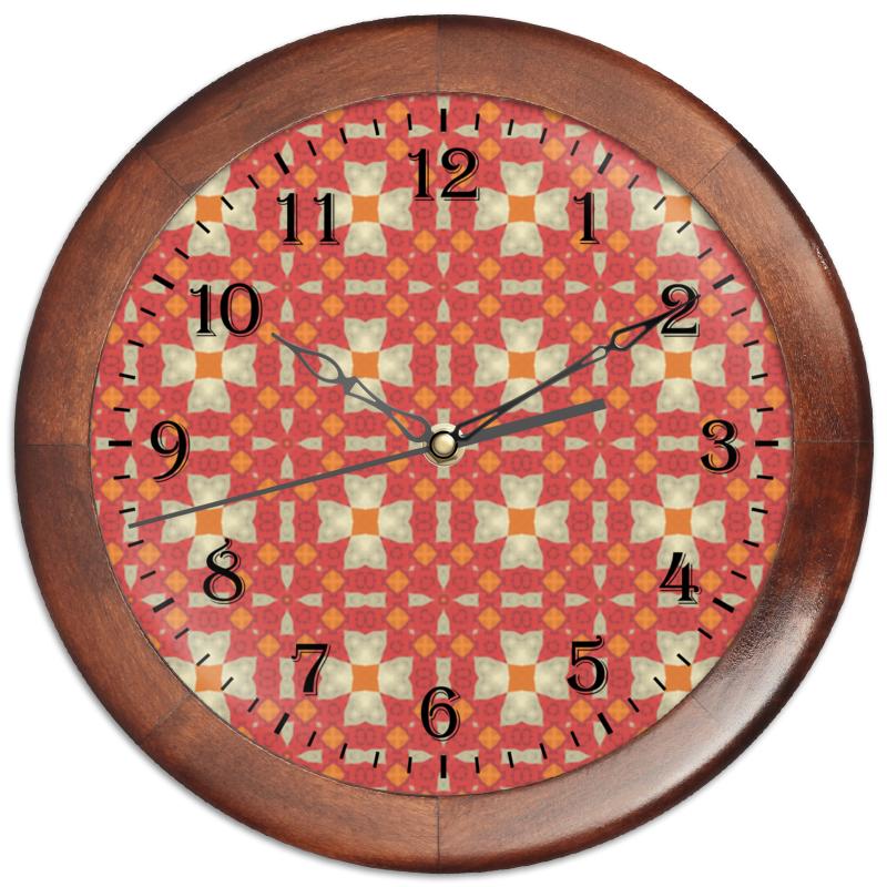 Часы круглые из дерева Printio Omrewq4300 часы круглые из дерева printio маски