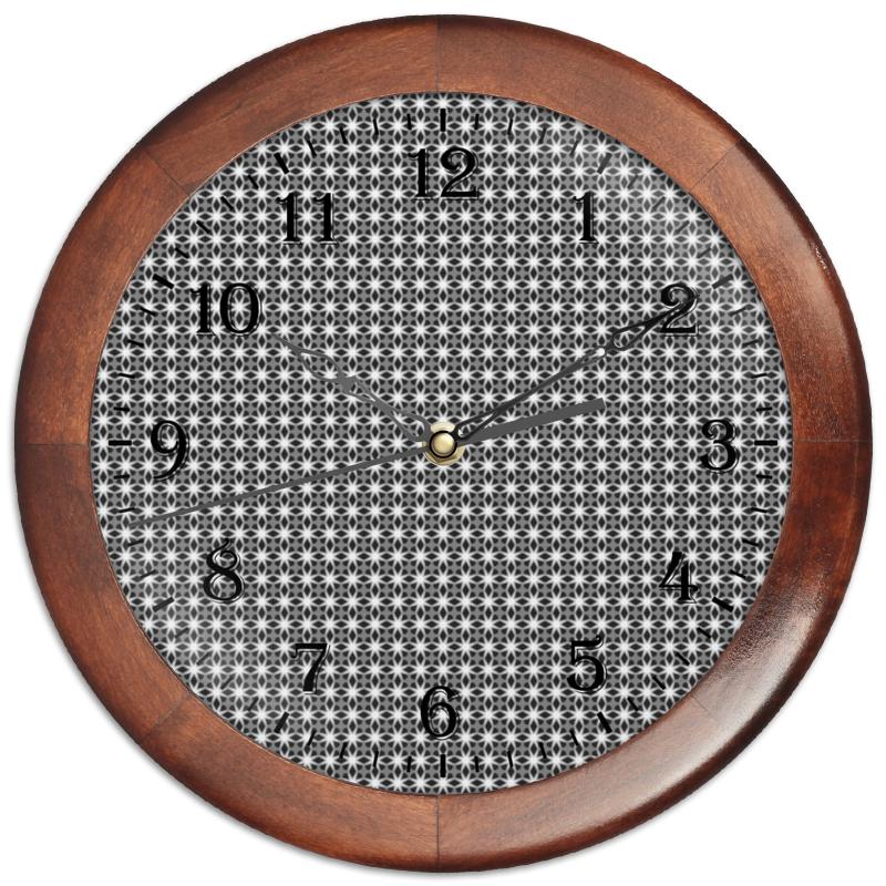Часы круглые из дерева Printio Valentine