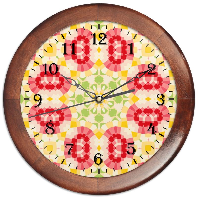 Часы круглые из дерева Printio Retouched часы круглые из дерева printio черная вдова