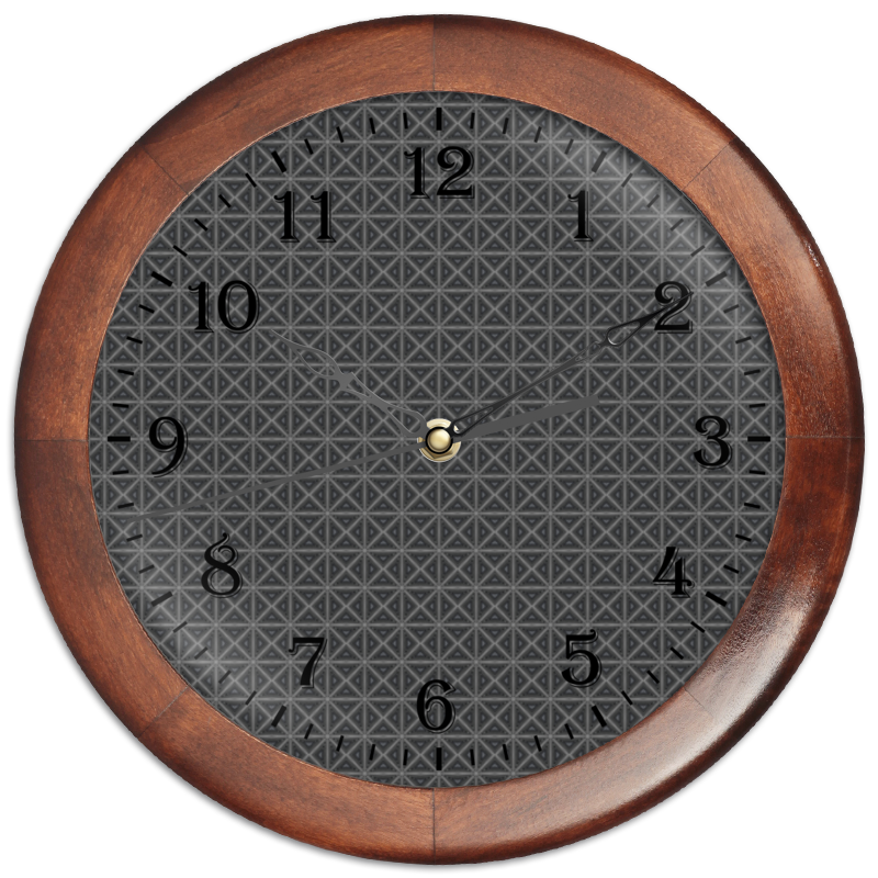 Часы круглые из дерева Printio Detroit eurofit detroit iwm