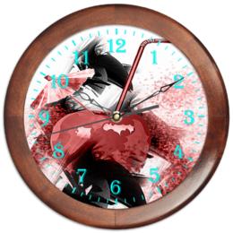 """Часы круглые из дерева """"Яблочный микс"""" - фрукты, напиток, абстракция, яблоко, натюрморт"""