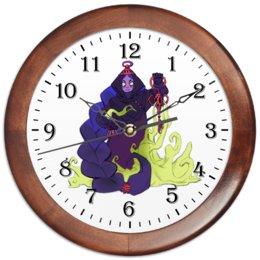 """Часы круглые из дерева """"Знак зодиака Скорпион"""" - знак зодиака скорпион, подарок скорпиону, товары для скорпиона, товары для интерьера, символ знака скорпион"""