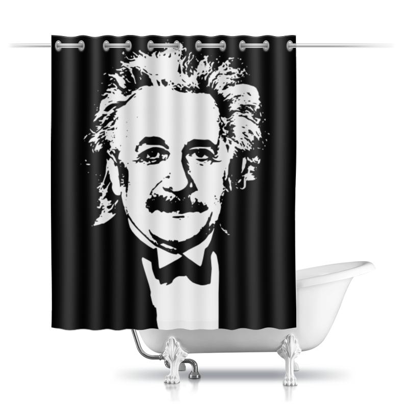 Шторы в ванную Printio Альберт эйнштейн альберт эйнштейн леопольд инфельд эволюция физики