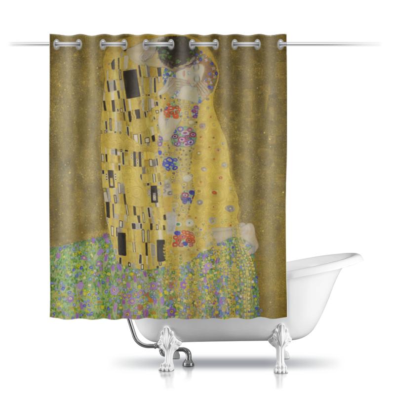 Шторы в ванную Printio Поцелуй (картина климта)