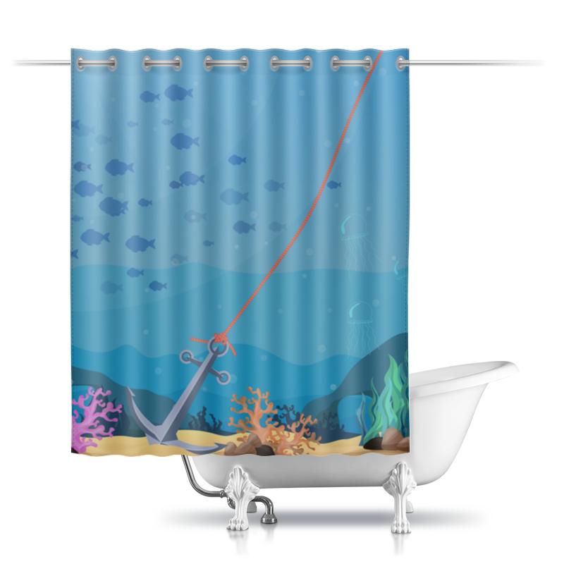 Шторы в ванную Printio Морское дно отсутствует морское наследие 2 2013