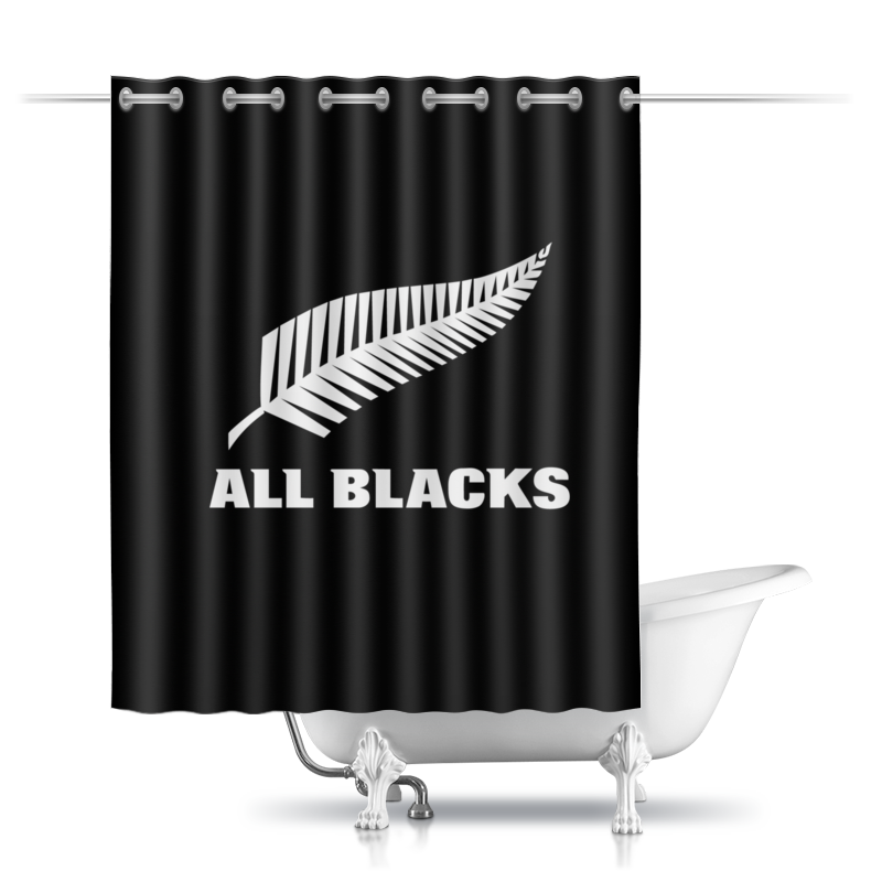 Шторы в ванную Printio All blacks холст 30x40 printio all blacks stars