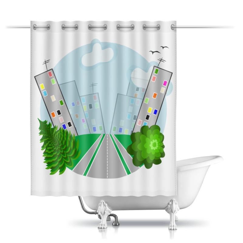 Фото - Printio город (добро пожаловать или дорога домой) шторы в ванную printio дорога к облакам или путешествие к мечте