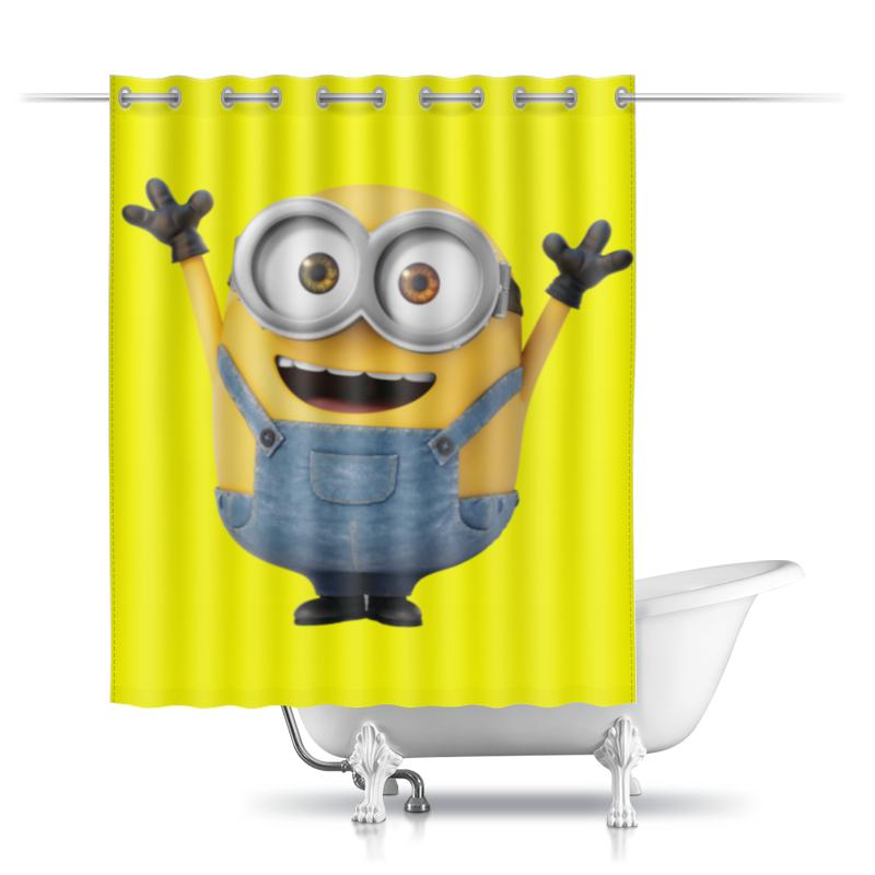 Printio Миньон шторы в ванную printio акварельная