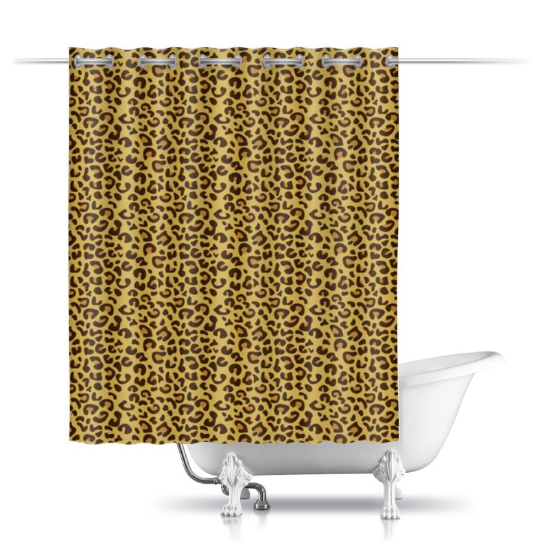 Шторы в ванную Printio Леопард шторы в ванную printio квадраты