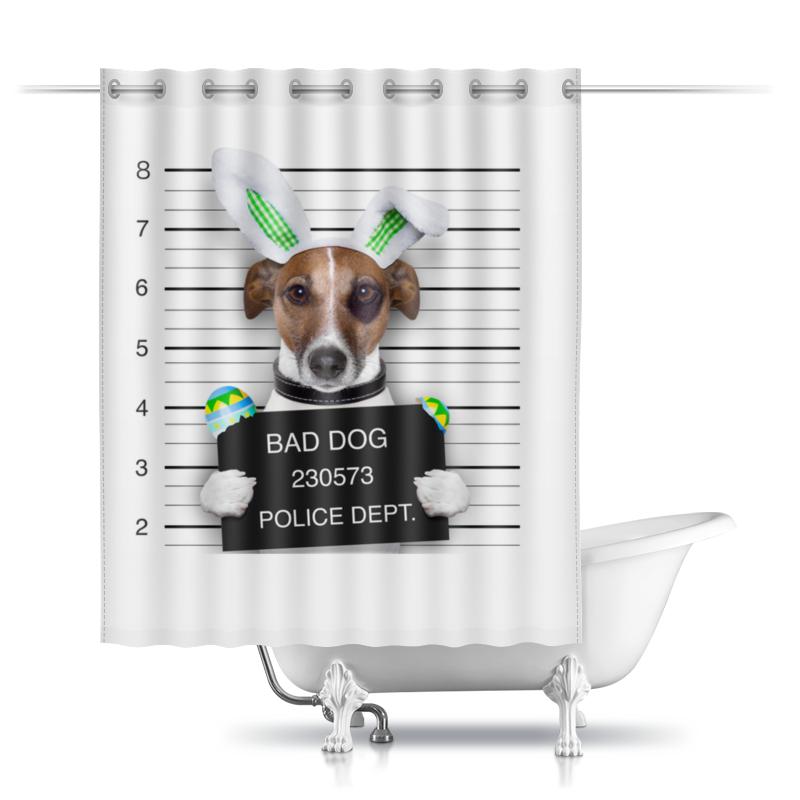 Шторы в ванную Printio Собака