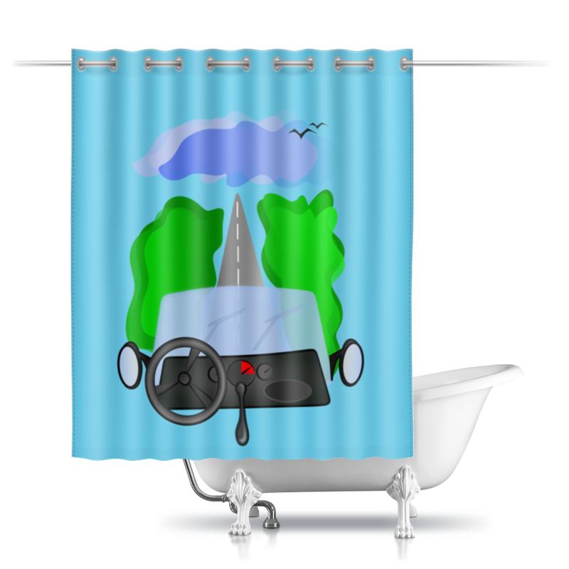 Фото - Printio Дорога к облакам или путешествие к мечте шторы в ванную printio дорога к облакам или путешествие к мечте