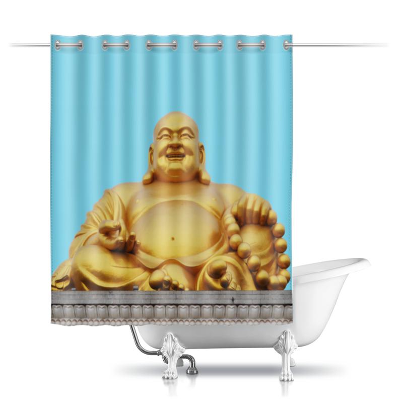 Шторы в ванную Printio Статуя будды и небо все цены