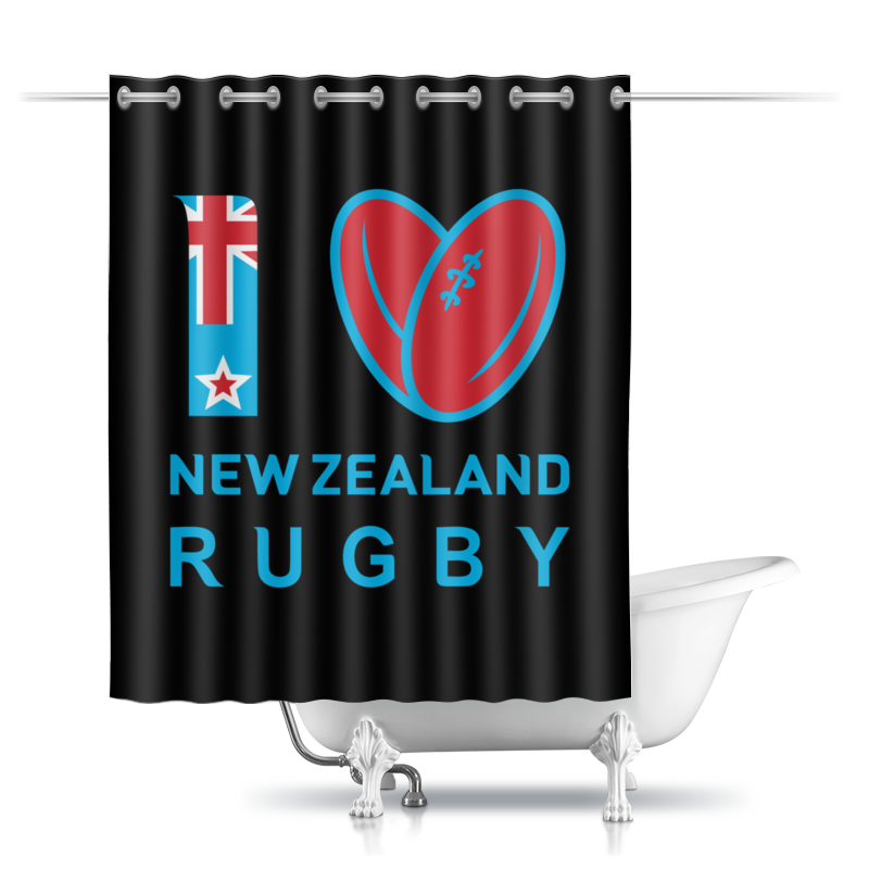 Printio I love nz rugby сумка printio rugby nz symbol