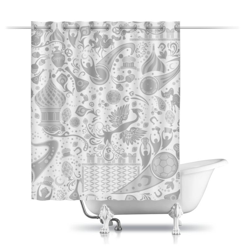 Шторы в ванную Printio Russia design