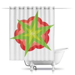 """Шторы в ванную """"RestoRaids"""" - ванная, restoraids, шторка, штора, занавеска"""