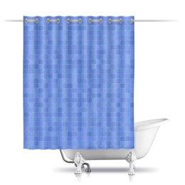"""Шторы в ванную """"Плитка"""" - квадрат, абстракция, спокойствие, плитка, tile"""