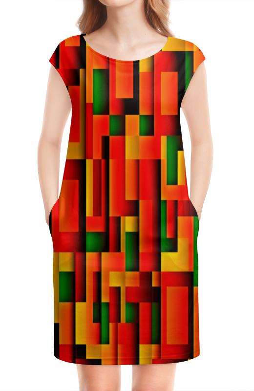 Платье без рукавов Printio Орнамент графический графический дизайн