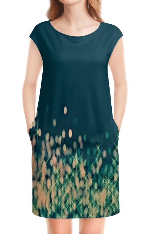Платье без рукавов Printio Мерцающий