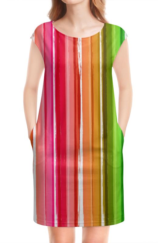 Платье без рукавов Printio Цветная радуга кружка printio радуга
