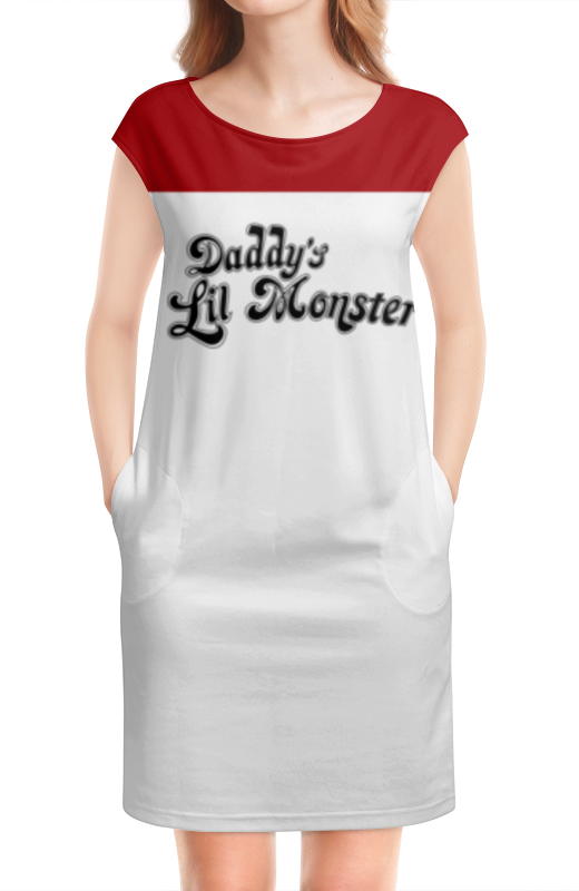 Платье без рукавов Printio Daddy's lil monster авто без первоначально взноса