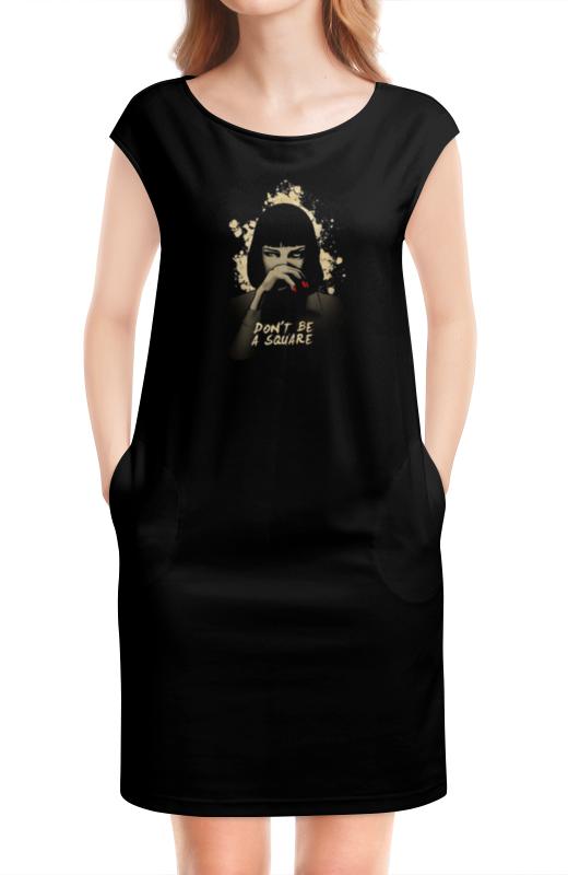 Платье без рукавов Printio Pulp fiction (ума турман) все цены