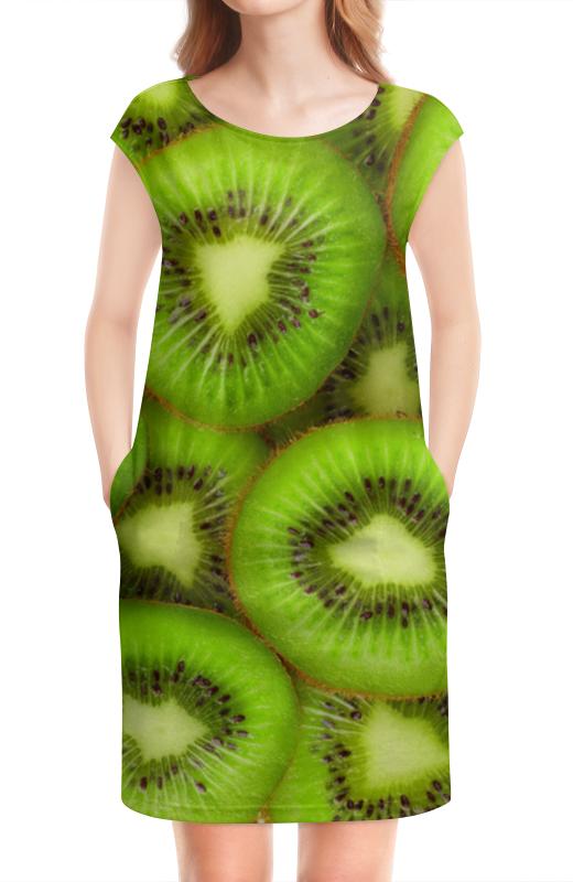 Платье без рукавов Printio Киви - это наслаждение