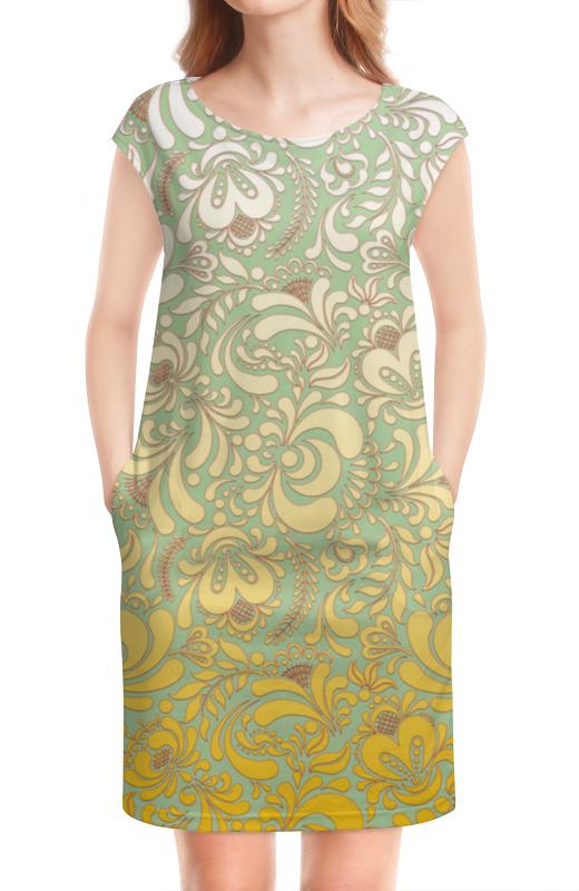Платье без рукавов Printio Мираж платье без рукавов с декоративным бантом