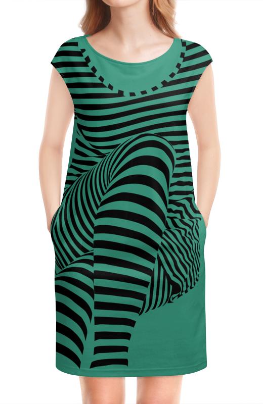 Платье без рукавов Printio раздвоение личности