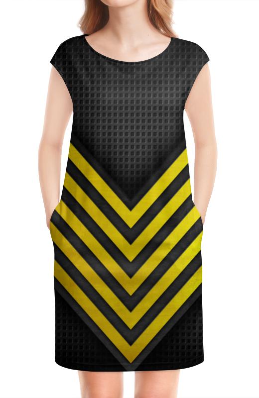 Платье без рукавов Printio Авангард билеты на хоккей авангард онлайн