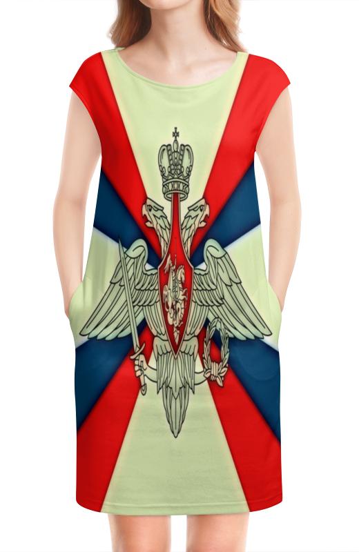 Платье без рукавов Printio Герб рф