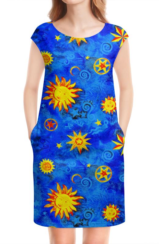 Платье без рукавов Printio Сонце звезды небо. атакама атакама звезды